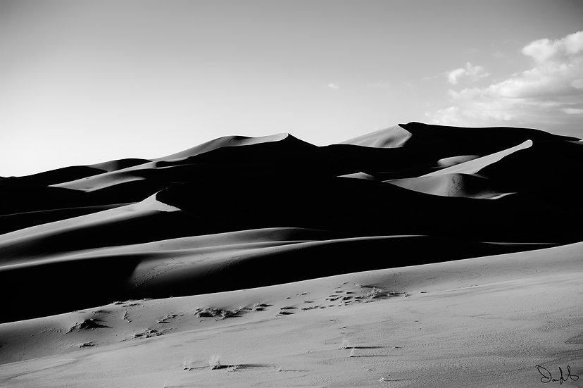 Sand Dune Shadows