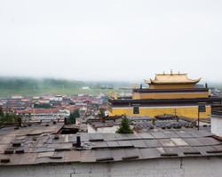 Dazhasi Monastery in the Mist