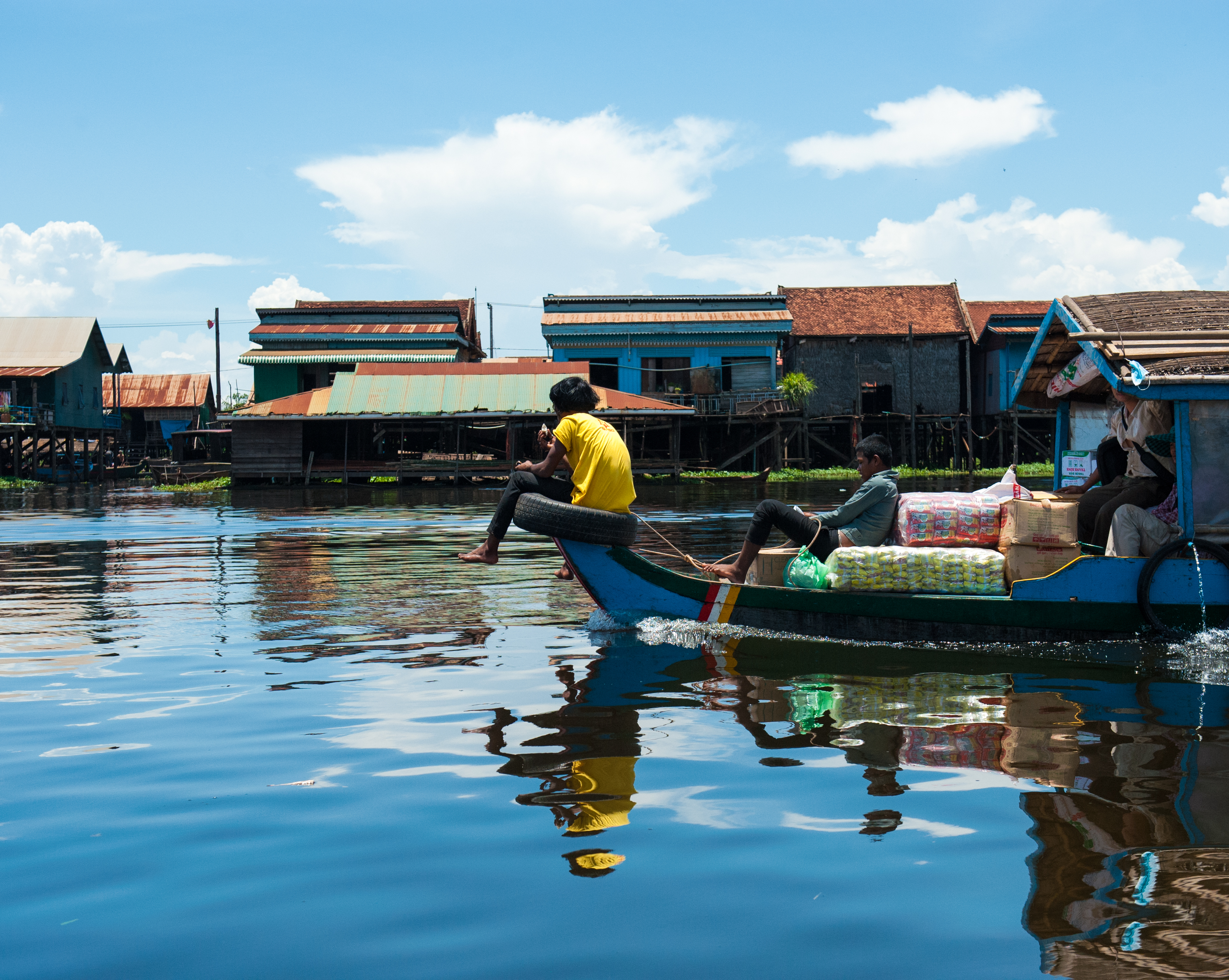 Tonle Sap Lake Ferry