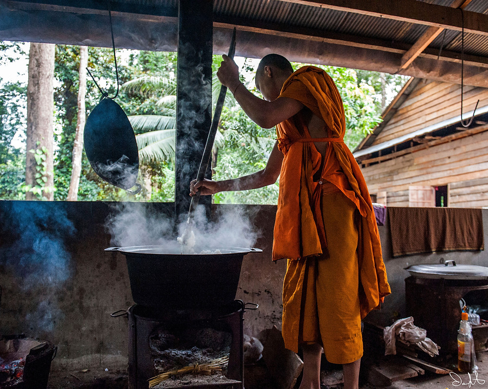 Buddhists, Siem Reap, Cambodia