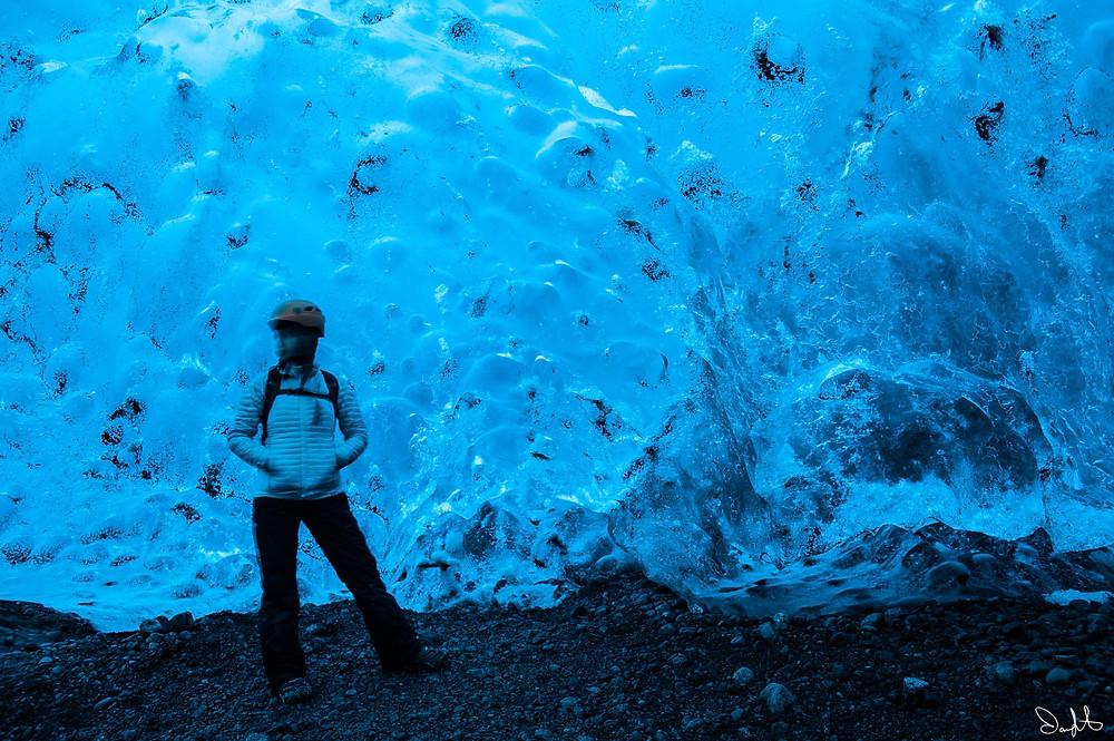 Iceland Vatnajokull Ice Cave