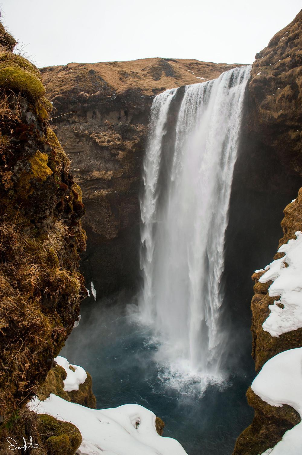 Skogafoss, Iceland. Skógafoss