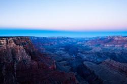 Grand Canyon Blue Sunrise