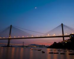 Tsing Ma Sunset