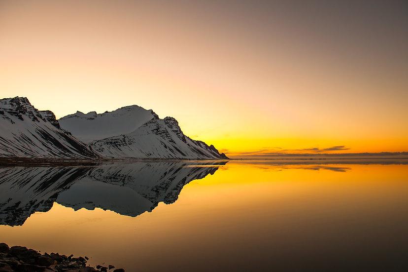 Hofn Sunrise with Mountain Mini
