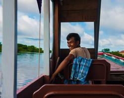 Tonle Sap Lake Boatman
