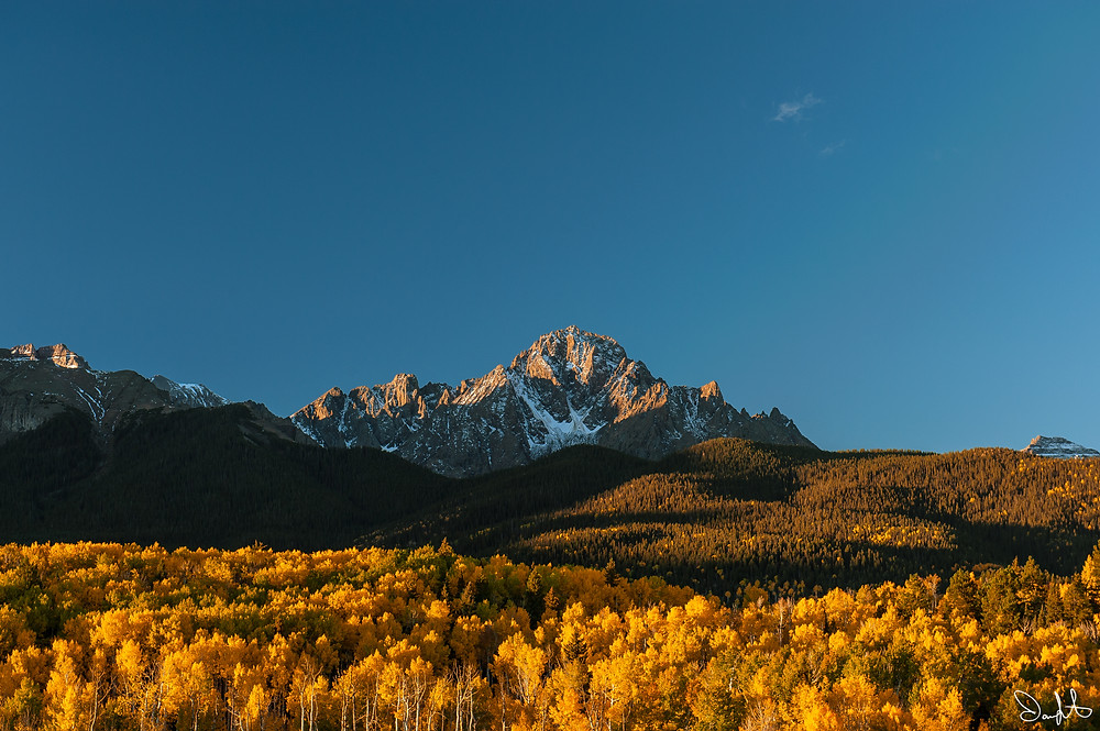 Mt. Sneffels from County Road 5, Ridgway, Colorado