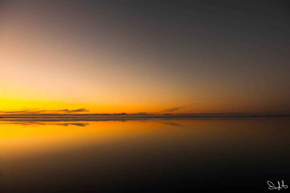 Bay Sunrise, Hofn, Iceland