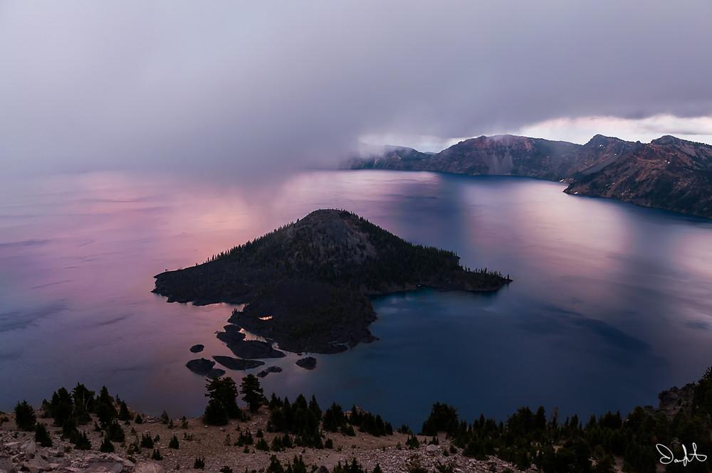 Watchman Overlook, Crater Lake, Oregon