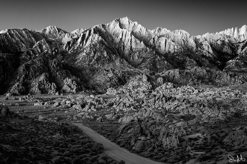 Lone Pine Peak BnW