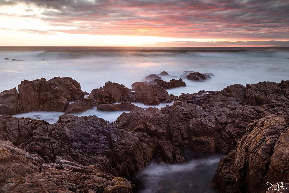 long exposure sunset
