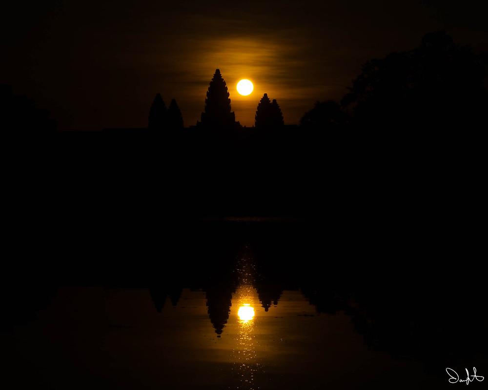 Angkor Wat, Cambodia, Sunrise