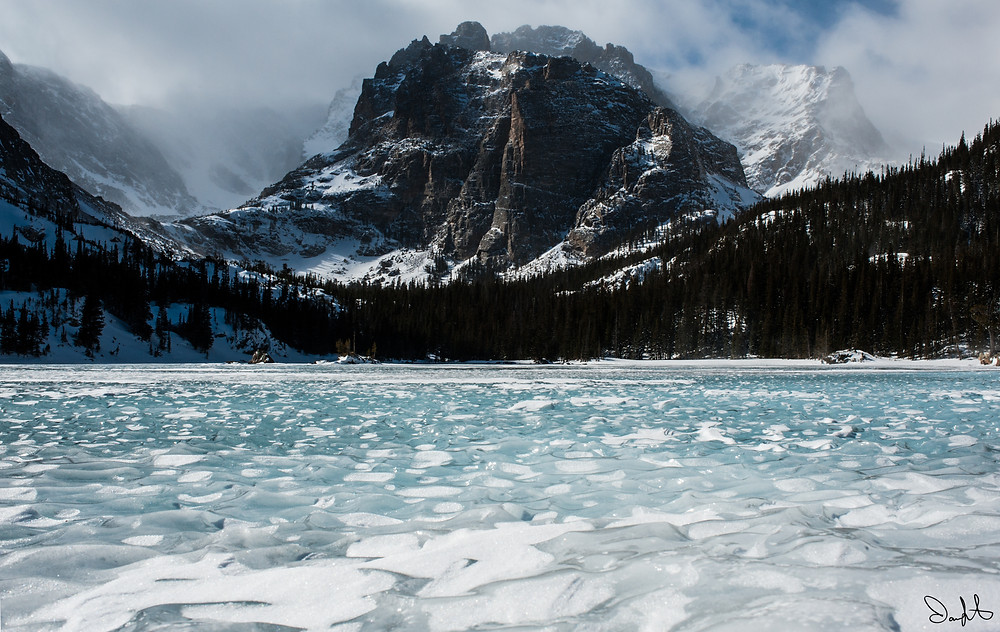 Taylor Peak, the Lock, Rocky Mountain National Park