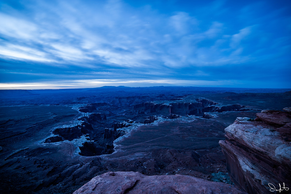 White Rim Canyon, Canyonland National Park, Island in the Sky