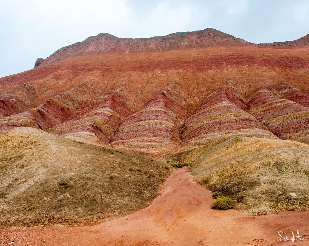 Rainbow mountains Zhangye Danxia National Landscape