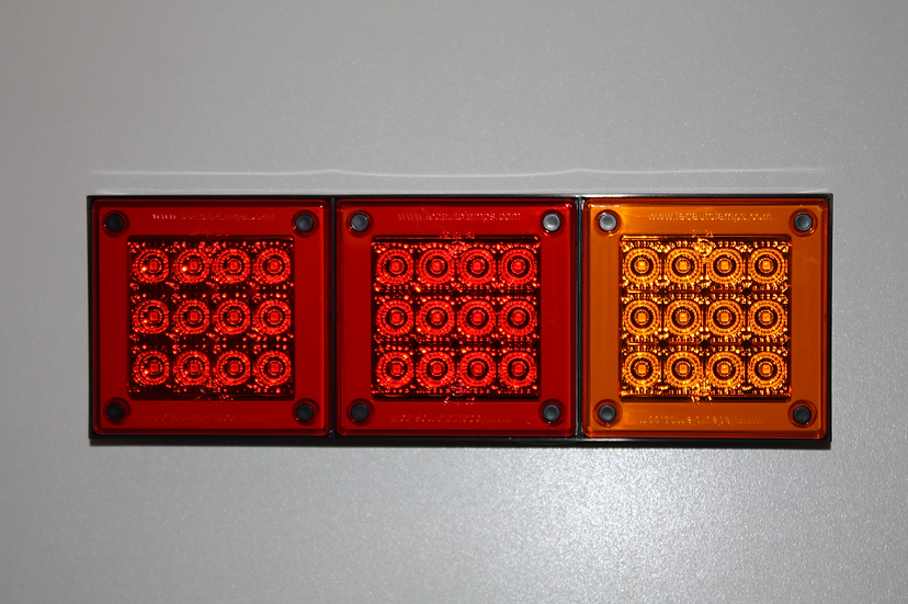 LED Autolamps 280ARRMB Rear Combination Light