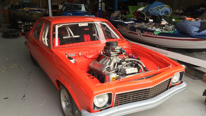 Torana Drag Car