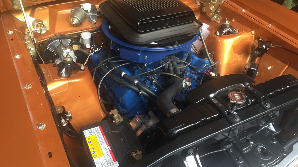 XW Ford Engine Bay Rewire