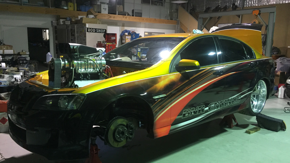 VE Burnout Car