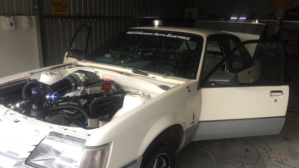 Lucas Ellingham's VK Drag Car