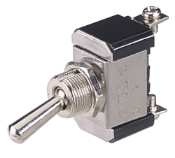 Narva 60055BL Metal Toggle Switch SPST