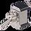 Thumbnail: Narva 60055BL Metal Toggle Switch SPST