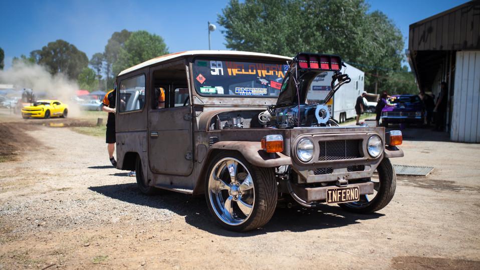 Inferno Burnout Car
