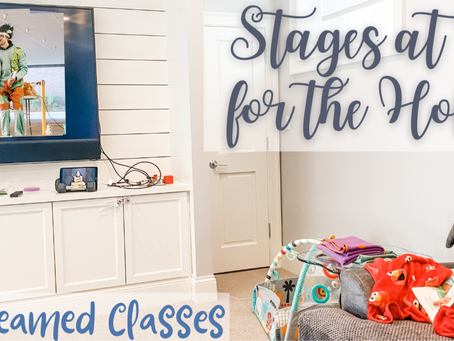 Stages At Home for the Holidays Live-Streamed Classes