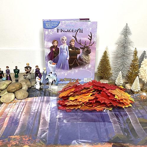 Frozen Enchanted Forest Sensory Bin Kit