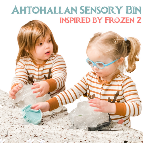Frozen 2 Ahtohallan Sensory Bin Kit
