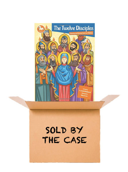 The Twelve Disciples Coloring and Activity Book - (50 Copies)