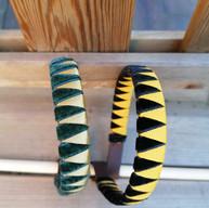 Verde y Dorado Negro y Amarillo