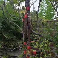 Granate y Caqui con remates en Teja