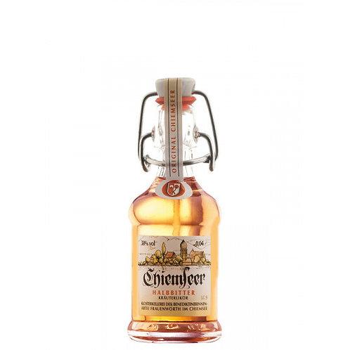 Chiemseer Halbbitter Kräuterlikör 0,04l in der Bügelflasche