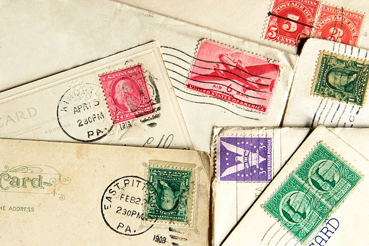 various-stamps