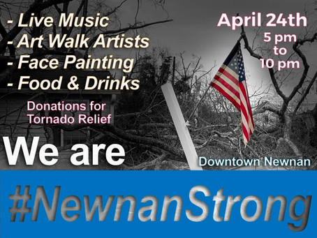 Newnan Strong Event Coming Saturday, April 24th...