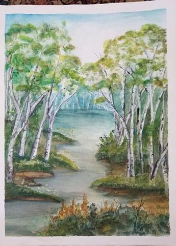 Watercolor Painting & Drawing