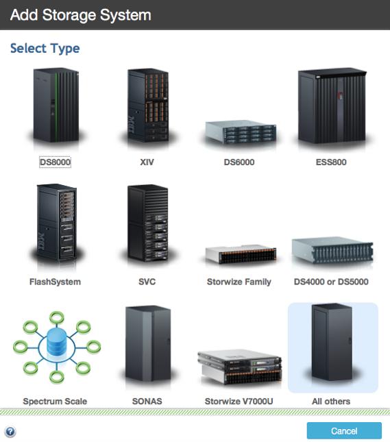 Adding Stotrage System - Tivoli Storage Productivity Center
