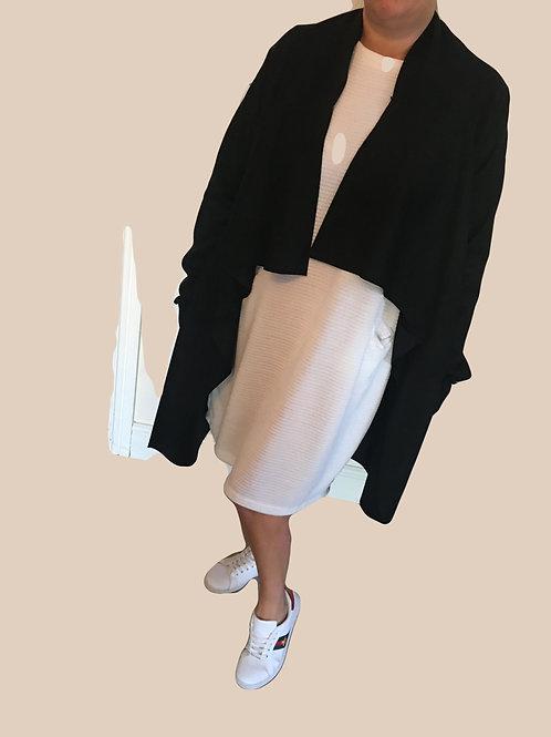 Waterfall suedette coat