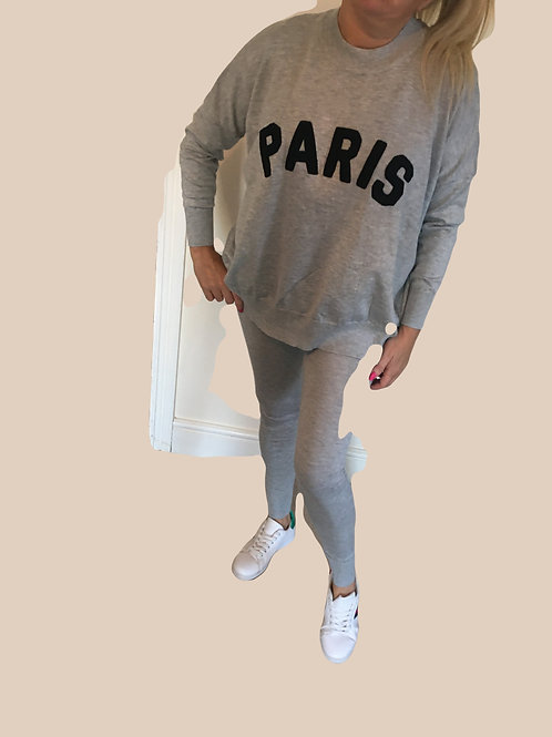 Grey'Paris' loungewear