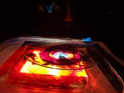 liquid light show plate