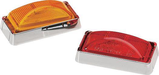 Piloto luz roja con reflectante