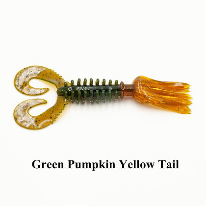 SMOKE GREEN PUMPKIN YELLOW TAIL