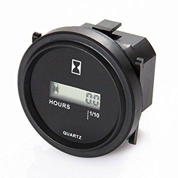 Reloj digital cuentas horas motor