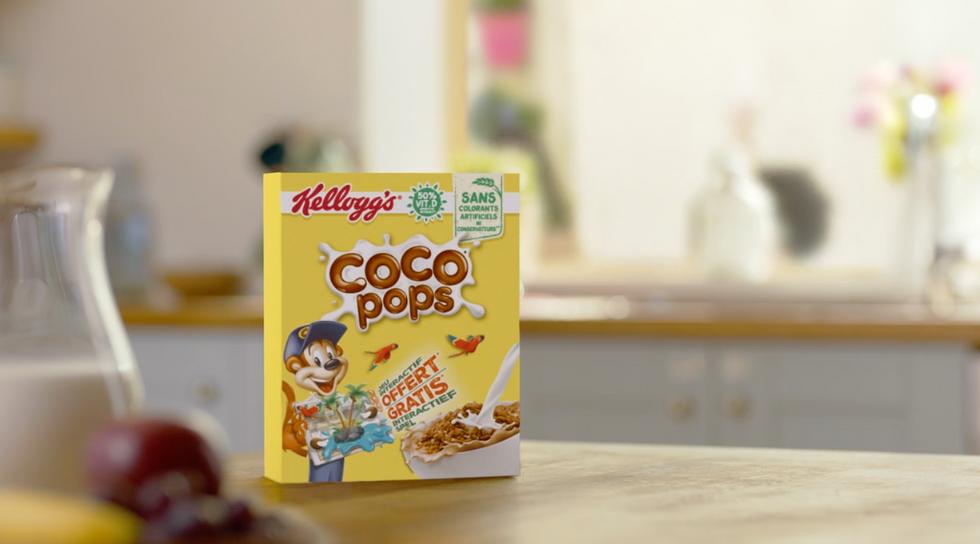 Kellogg's cocopops blippar commmercial