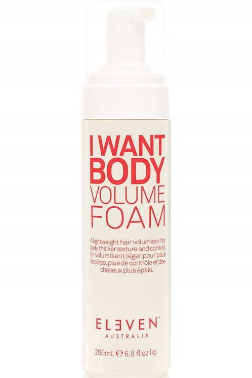 Eleven I Want Body Volume Foam (200ml)