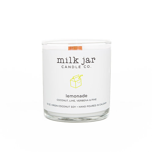 Milk Jar Candle Co. - Lemonade