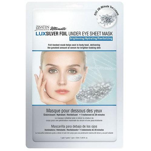 Satin Smooth Luxsilver Under Eye Sheet Mask (12ml)