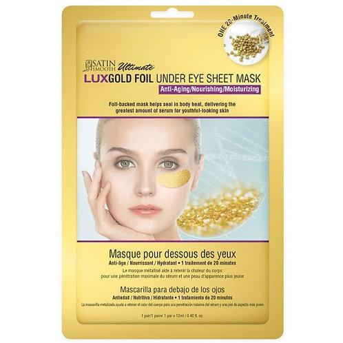 Satin Smooth Luxgold Under Eye Sheet Mask (12ml)