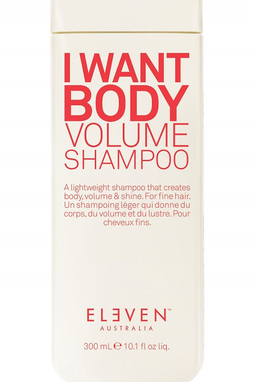 Eleven I Want Body Volume Shampoo (300ml)